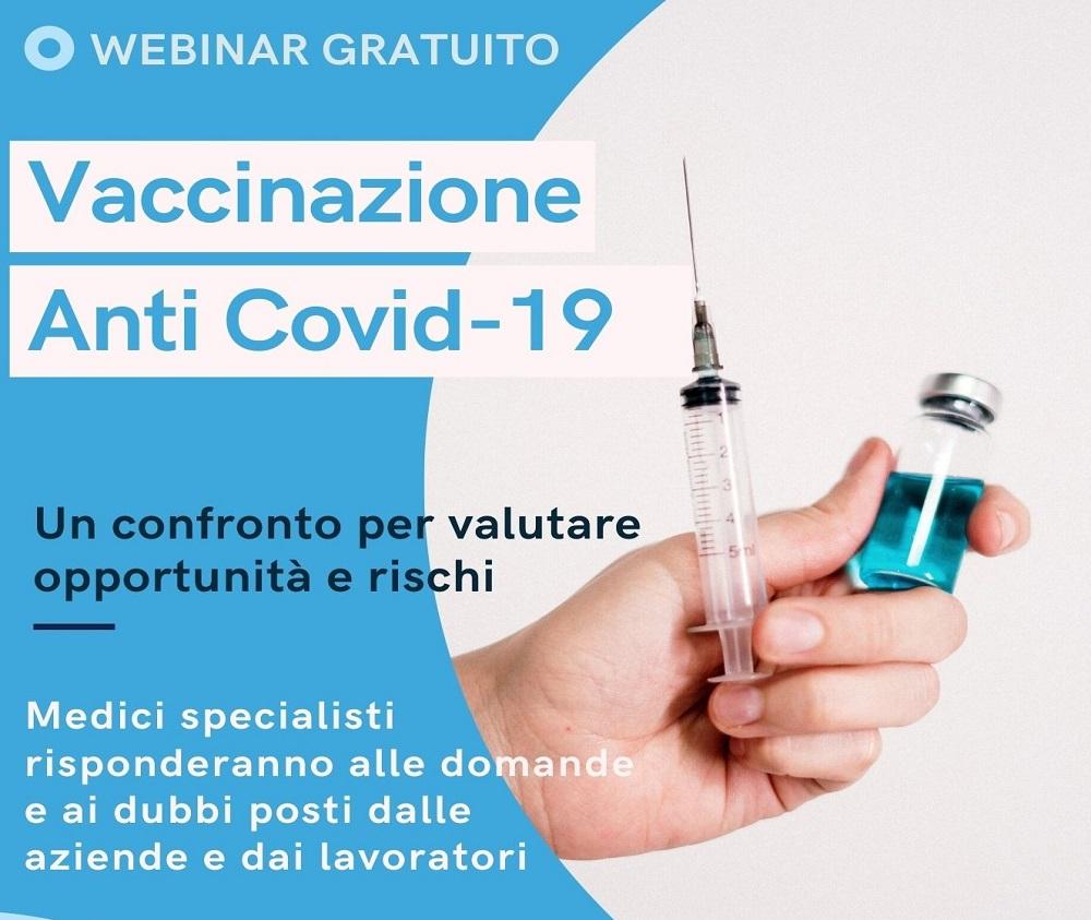 Webinar Vaccini Covid-19